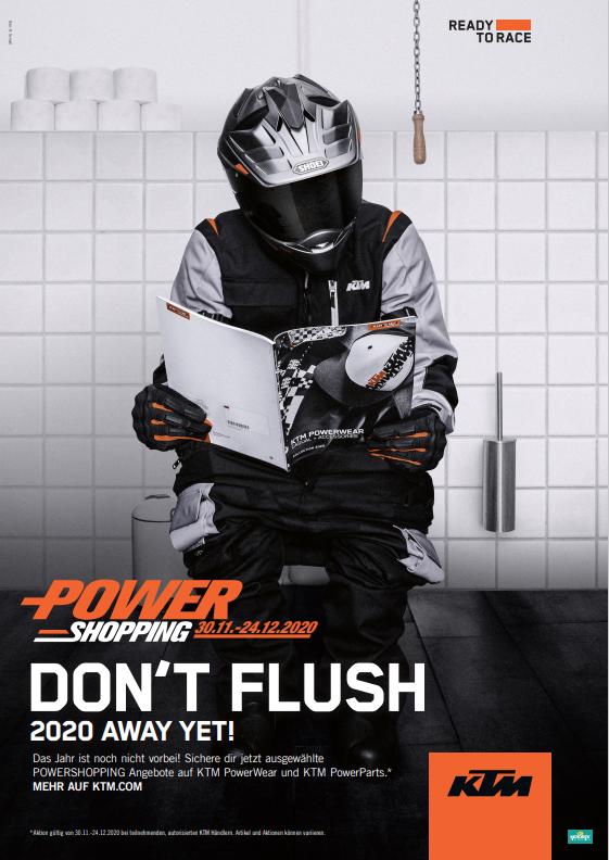 Powershopping KTM